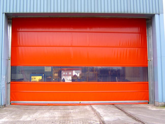 Vertical Rapid Roll Doors