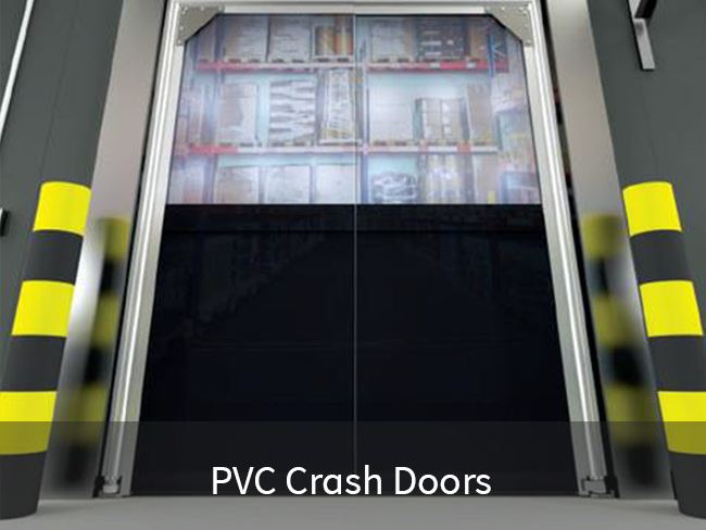 PVC Crash Doors