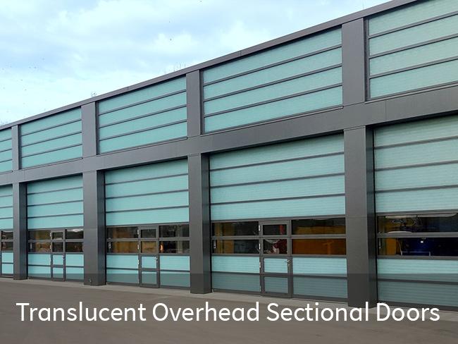 Translucent Overhead Sectional Doors