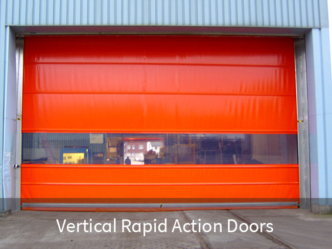 Vertical Rapid Action Doors