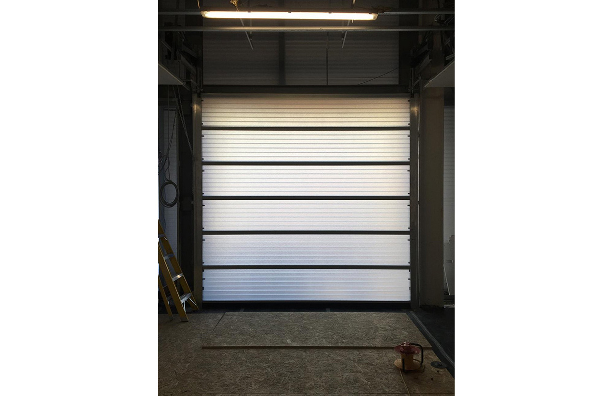 Translucent Overhead Stacking Door