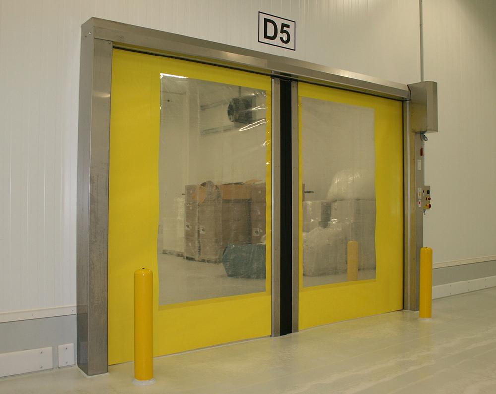 Whirlwind Rapid Action Bi-Parting Doors