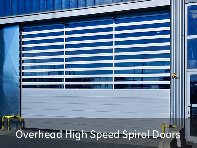 Overhead High Speed Spiral Doors