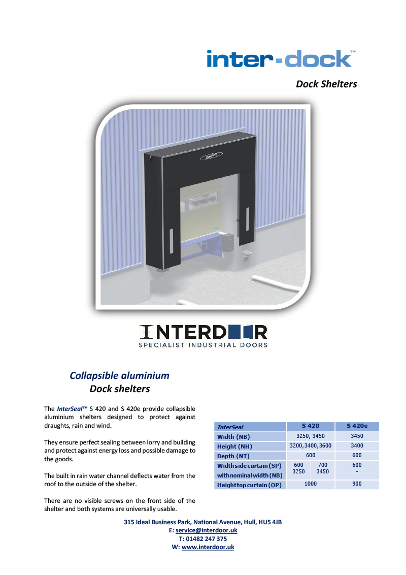 InterDock Shelters 420 Series