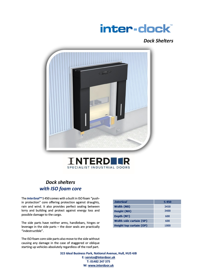 InterDock Shelters 450 Series