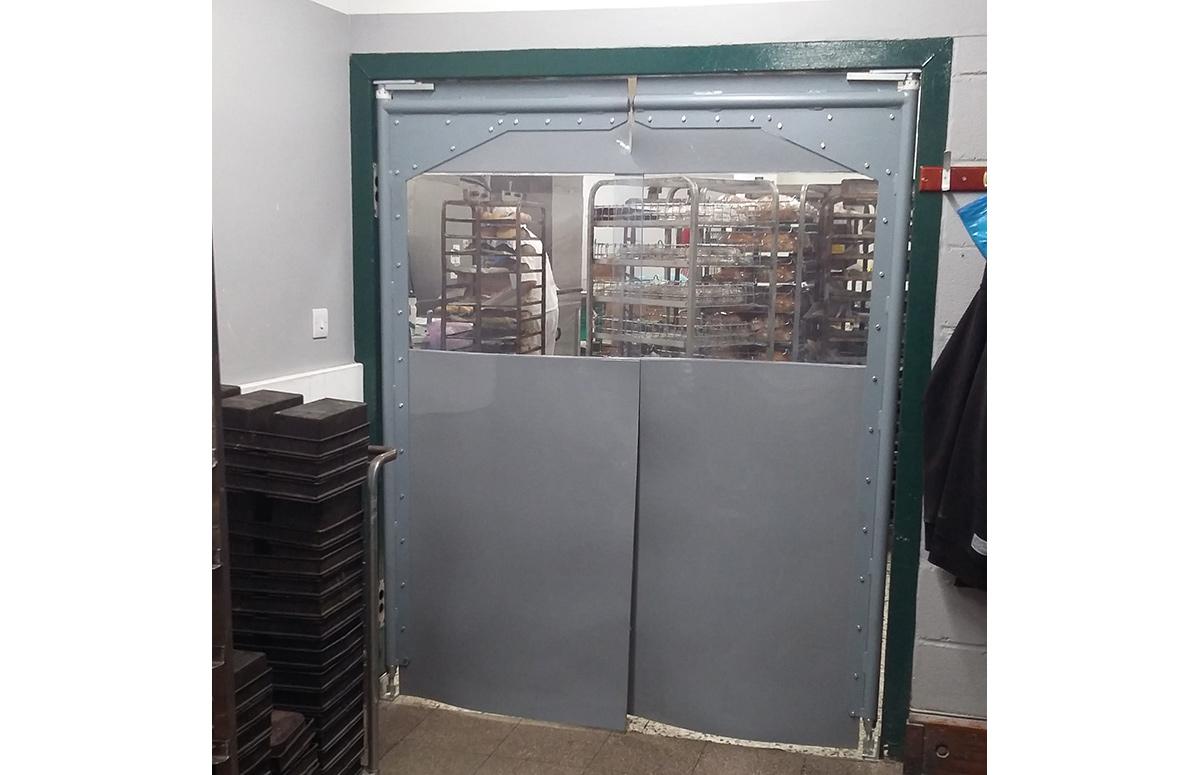 PVC Crash Door Images