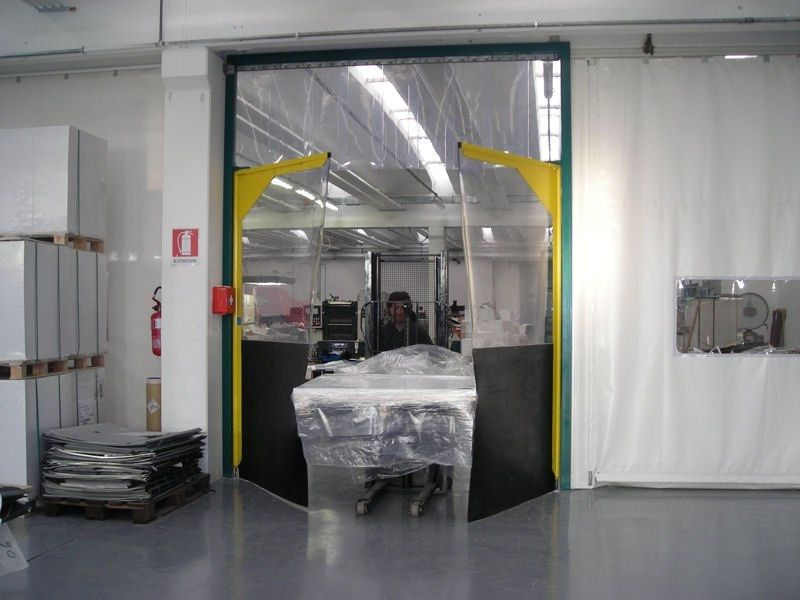 Flexi PVC Crash Doors