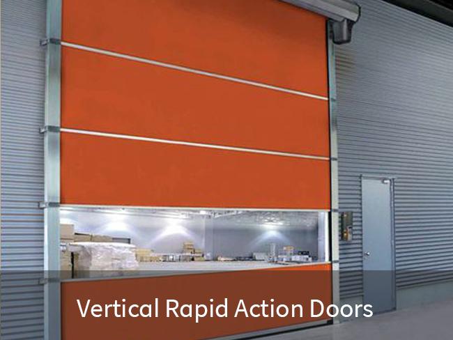 Vertical Rapid Action Doors